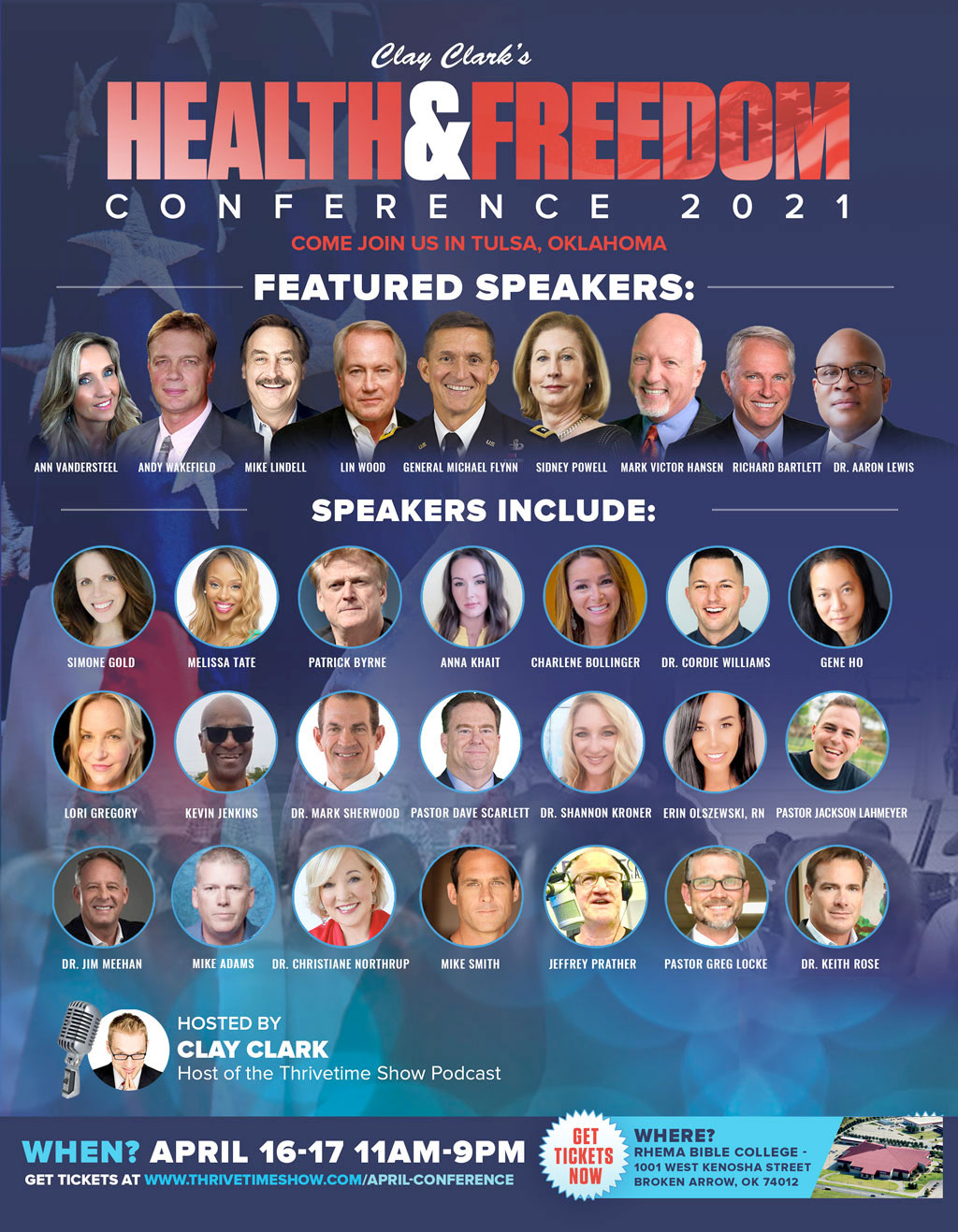 April Health & Freedom Conference ThrivetimeShow