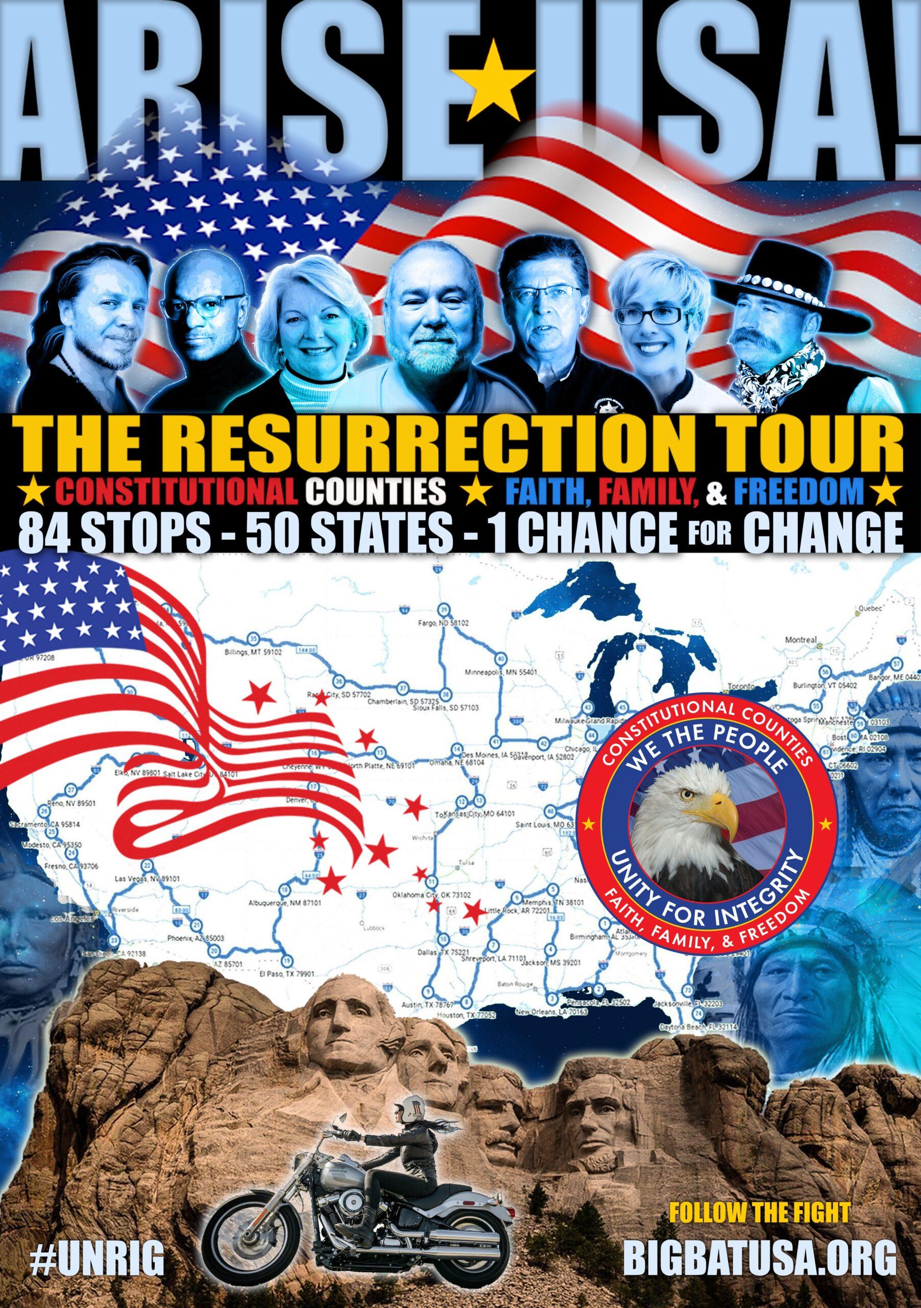 ARISE USA: The Resurrection Tour