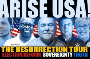 Join the Fight! Ride for the USA with ARISE USA Resurrection Tour. BigBatUSA.com